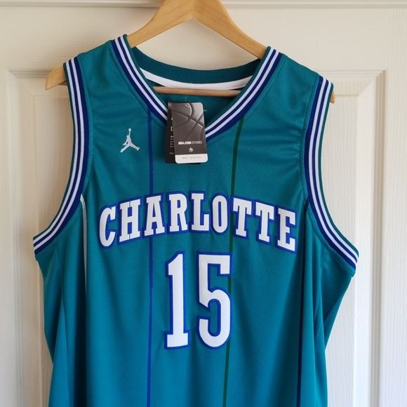 new concept 5c84c ff257 KEMBA WALKER CHARLOTTE HORNETS JERSEY NWT